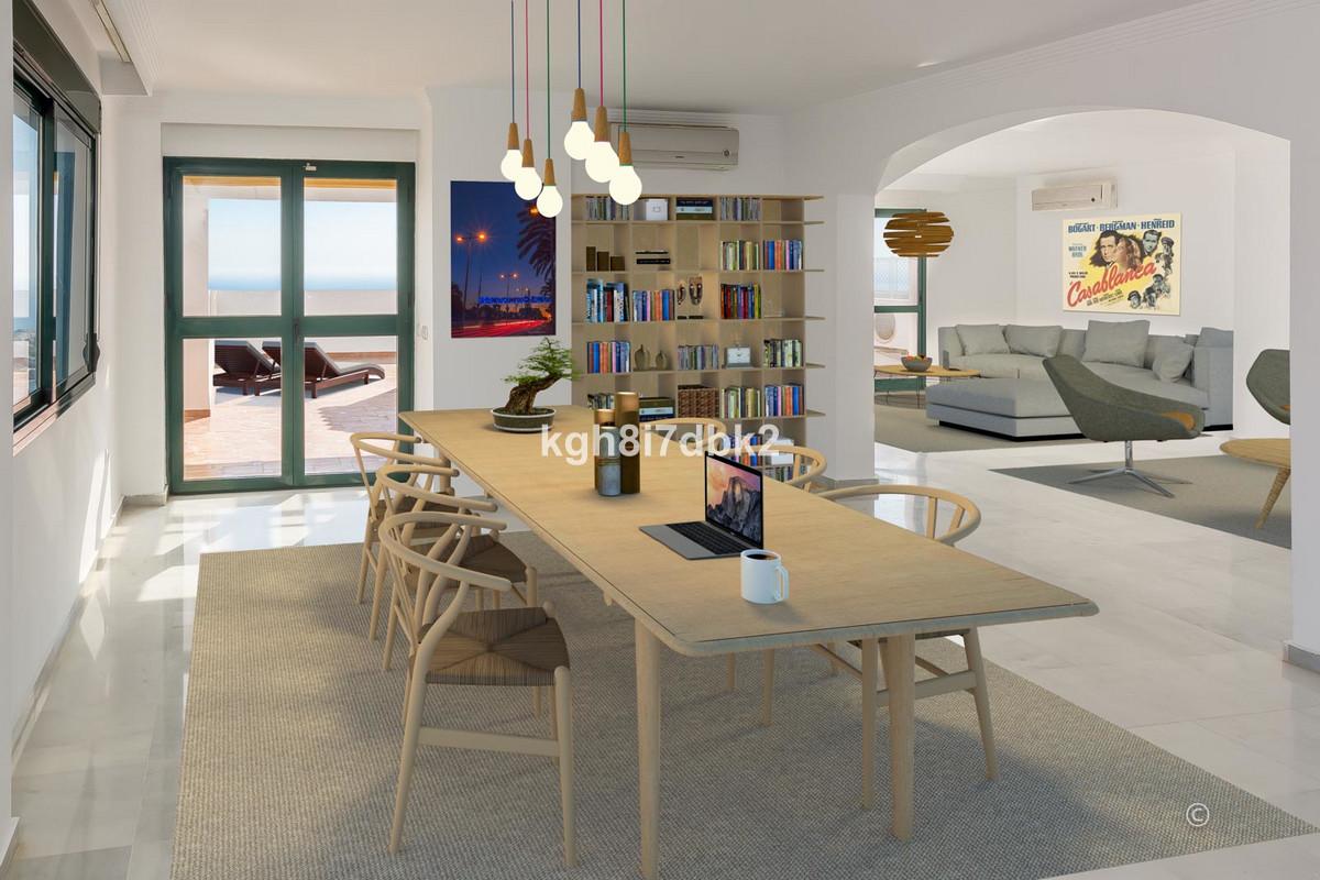 Apartment  Penthouse for sale   in Benalmadena Pueblo