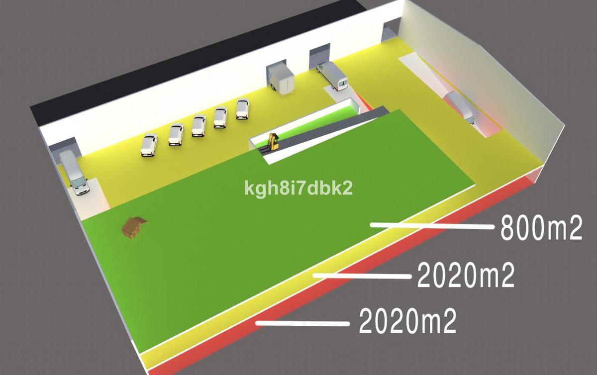 Warehouse, Torremolinos, Costa del Sol. 1 Bedroom, 1 Bathroom, Built 4840 m², Garden/Plot 2020 m².  ,Spain