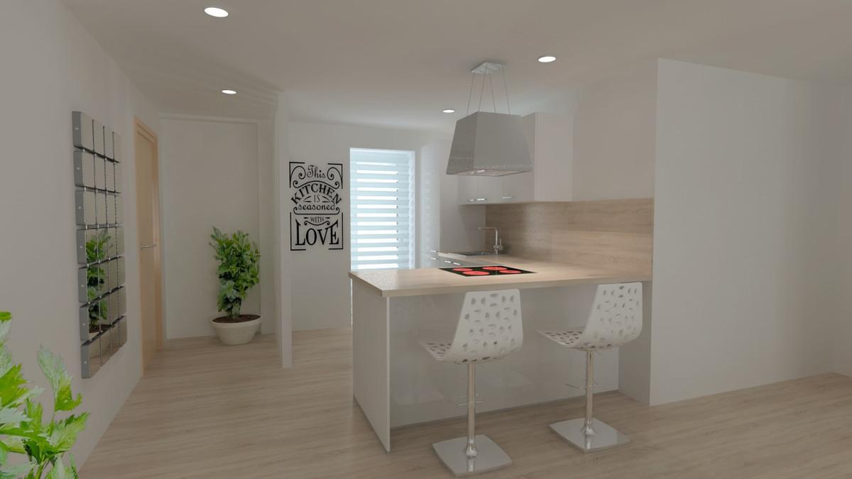 Top Floor Apartment, Fuengirola, Costa del Sol. 3 Bedrooms, 2 Bathrooms, Built 105 m², Terrace 10 m²,Spain