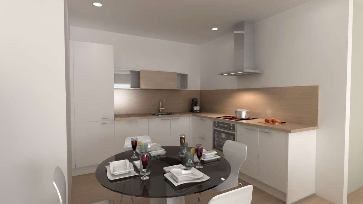 Top Floor Apartment, Fuengirola, Costa del Sol. 3 Bedrooms, 2 Bathrooms, Built 110 m², Terrace 8 m².,Spain