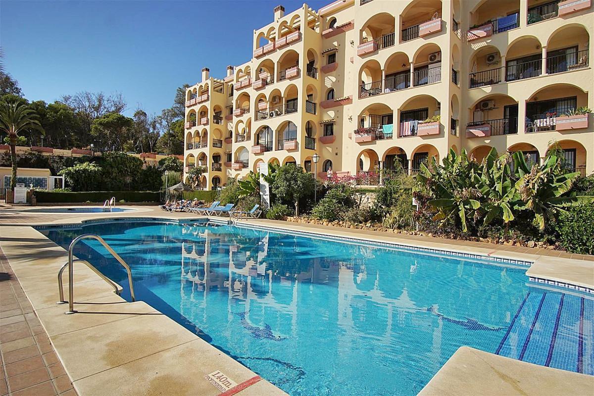 South facing ground floor apartment on the gated complex Torreoceano in La Cala de Mijas. Very quiet,Spain