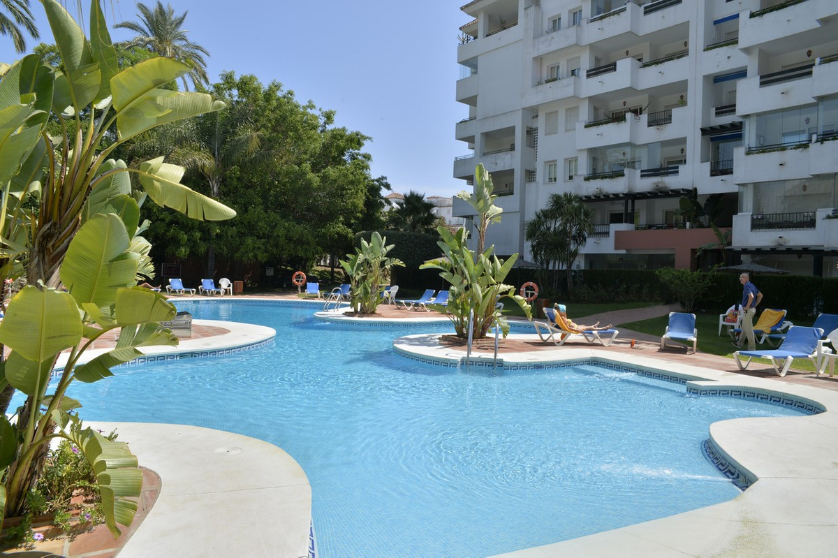 Apartment in the heart of Puerto Banus (Marbella), in an emblematic urbanization, gated complex with,Spain
