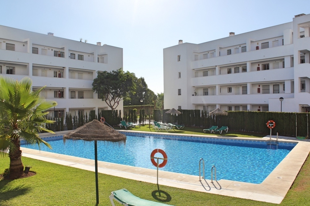 Location Location This ground floor apartment with large private garden and 3 bedrooms is situated w,Spain