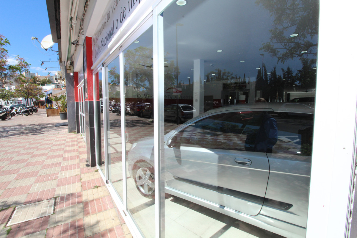 Shop at one of the main streets in Marbella 200 m2 huge windows facing the street. At the moment ren,Spain