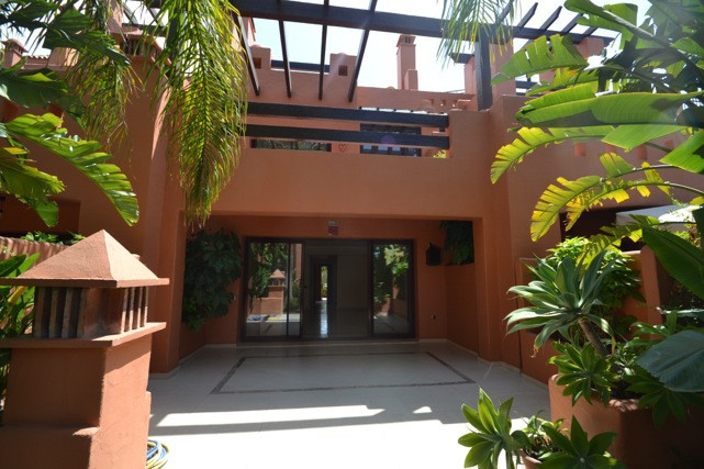 Stunning Andalucian style townhouse located on the famous golden mile in Marbella. A wonderfull desi,Spain