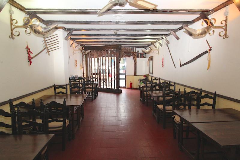 Restaurant in San  Pedro de alcantara ,residential area ,very near to a smalll hotel ,the local incl,Spain