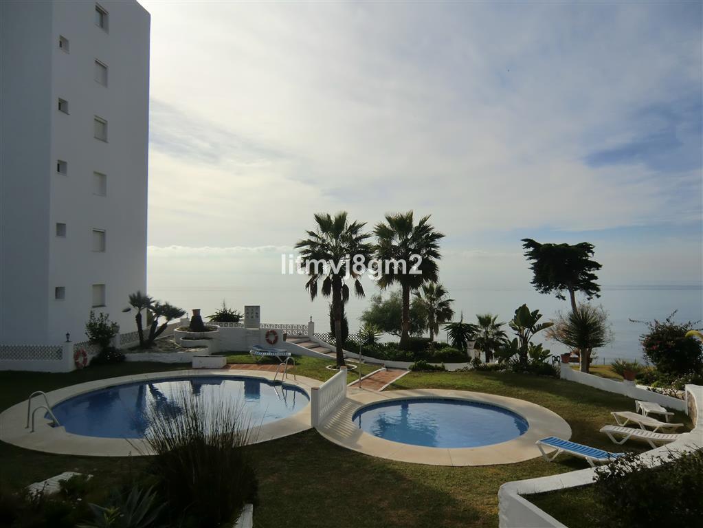 LOCATION, LOCATION, LOCATION CALAHONDA, BEACH FRONT, IN URB, ALGAIDA.  Apartment situated just a few,Spain