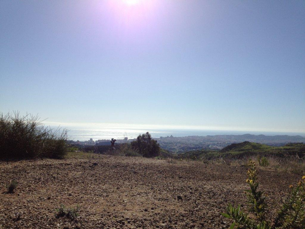 2 Fantastic plots with 180º panoramic views down the coast.  Two fantastic plots with Panoramic view,Spain