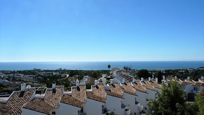 This is a rarely available townhouse with its own private garage and with spectacular views over the,Spain