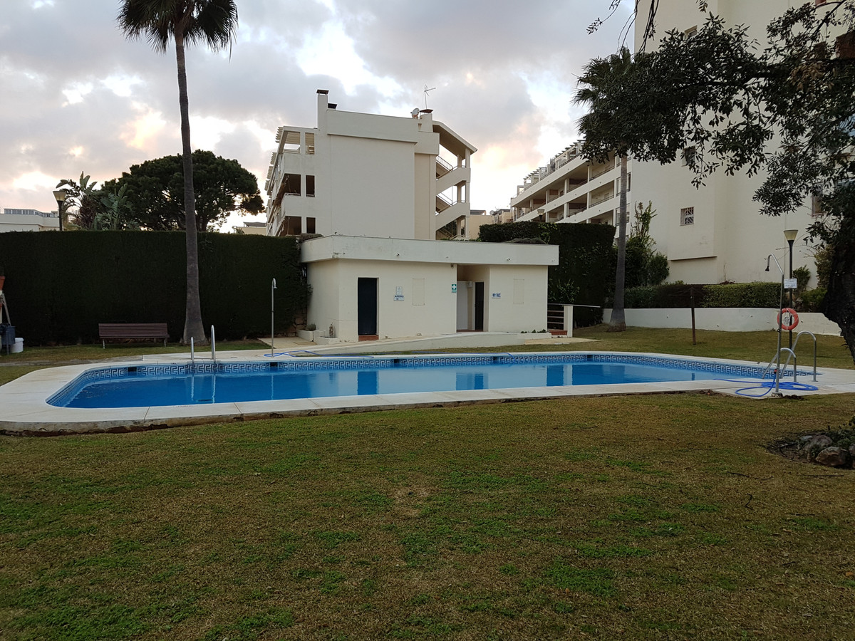Top floor apartment with sea views. Penthouse with 1 bedroom with fireplace in living room and bedro,Spain