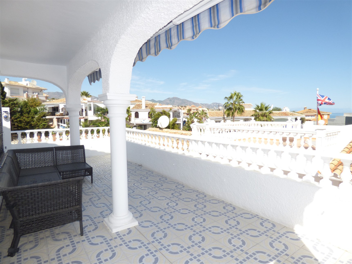 One of a kind.  Andalucian style, corner, beach bungalow/townhouse/semidetached house with 3 bed-2ba,Spain