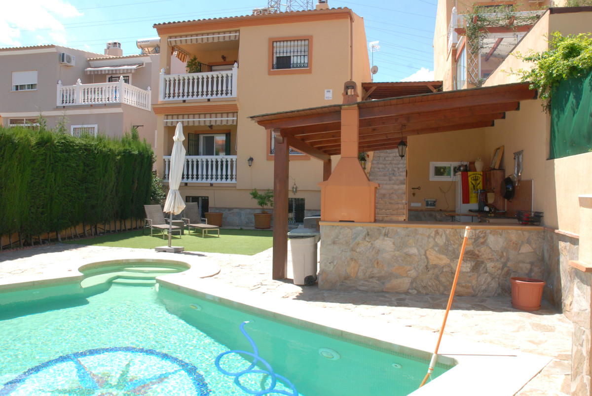 Spacious semi-detached villa in residential area of Puerto de la Torre. A quiet area with beautiful ,Spain