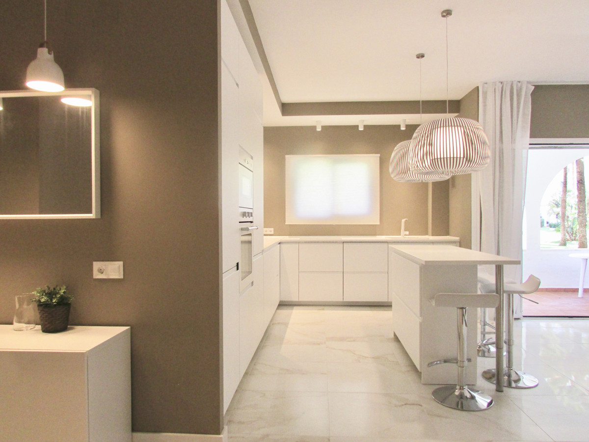 Gorgeous just renovated apartment in a prestigious frontline beach urbanisation in Puerto Banus!  A ,Spain