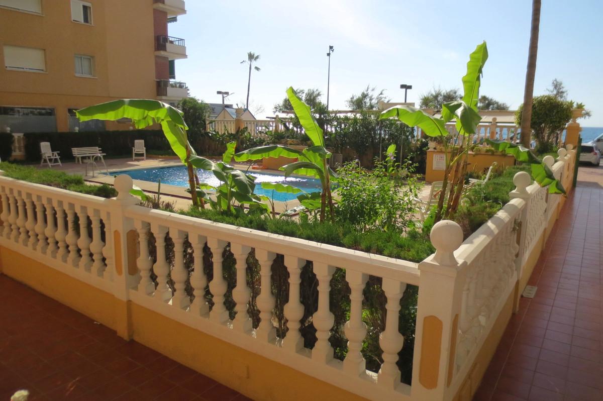 Ground Floor Apartment, Fuengirola, Costa del Sol. Built 32 m².  Setting : Beachfront, Town, Close T,Spain