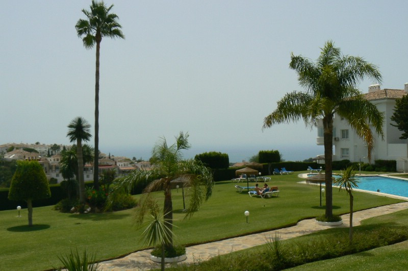 Wonderful apartment - with fantastic views from the nice terrace. 3 beds, 2 bath., big lounge, f.f. ,Spain