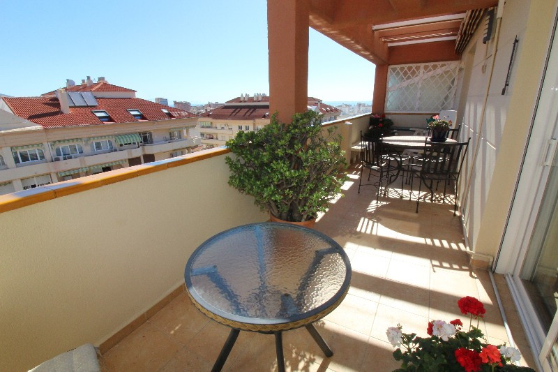Penthouse duplex  in the center of Fuengirola, located in a very well maintained building close to e,Spain