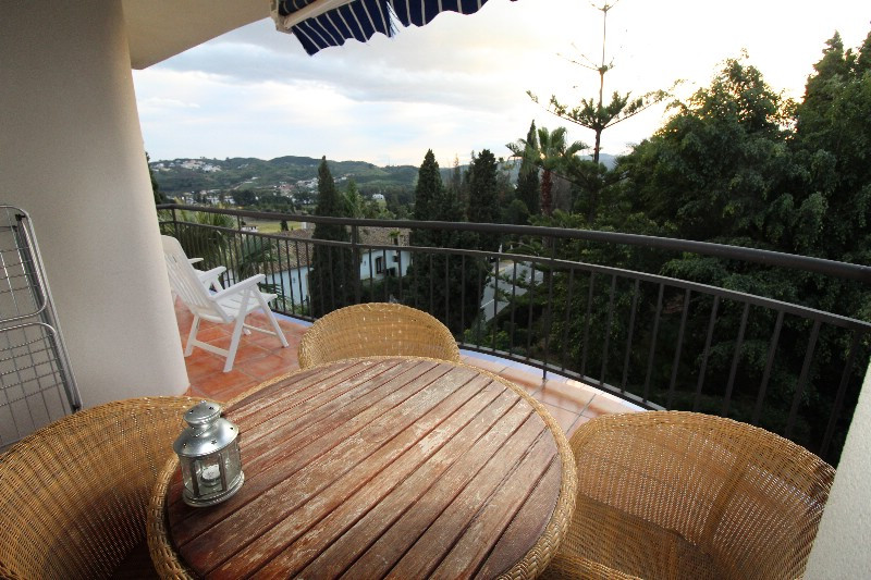 Lovely apartment located in Mijas Golf, with a lovely view to the golf course and with lovely evenin,Spain