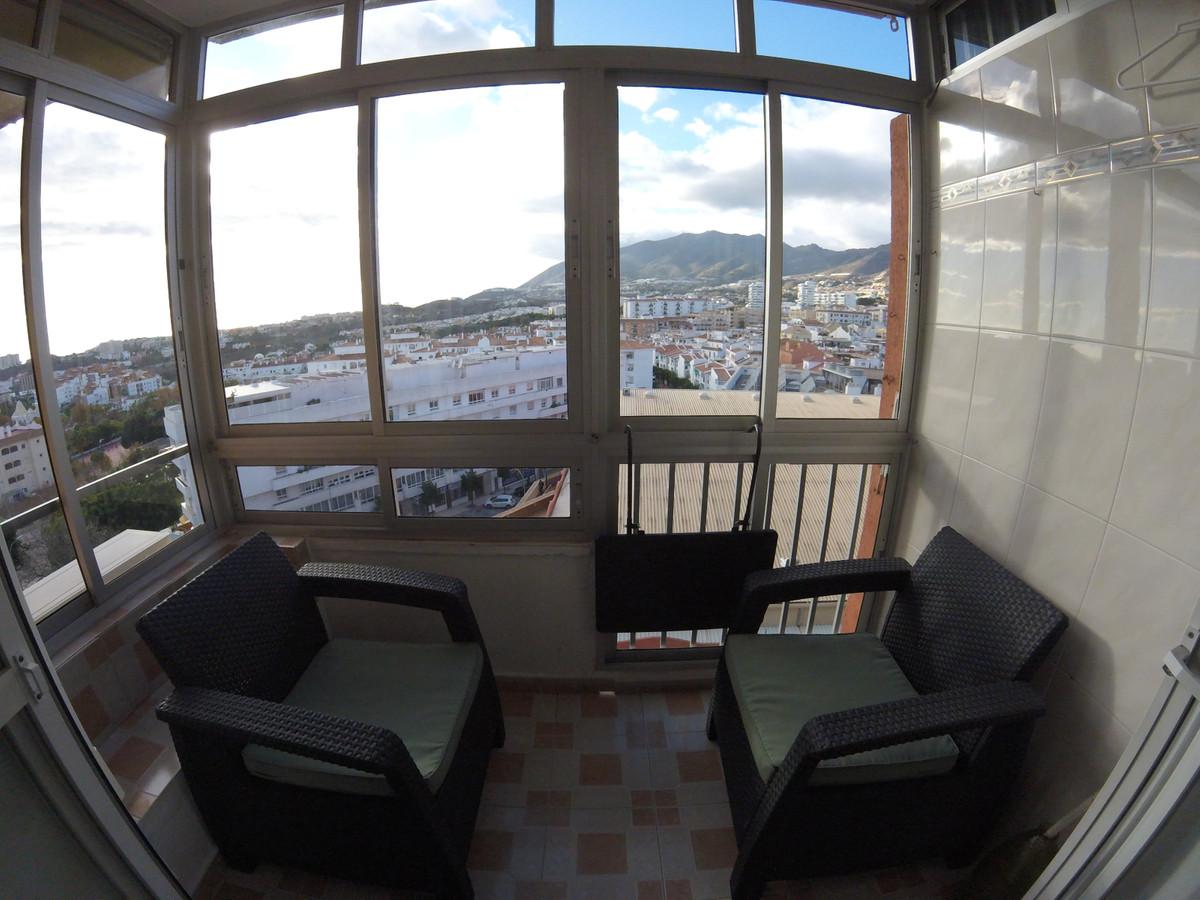 Top Floor Studio, Benalmadena Costa, Costa del Sol. Built 32 m².  Setting : Town, Commercial Area, C,Spain