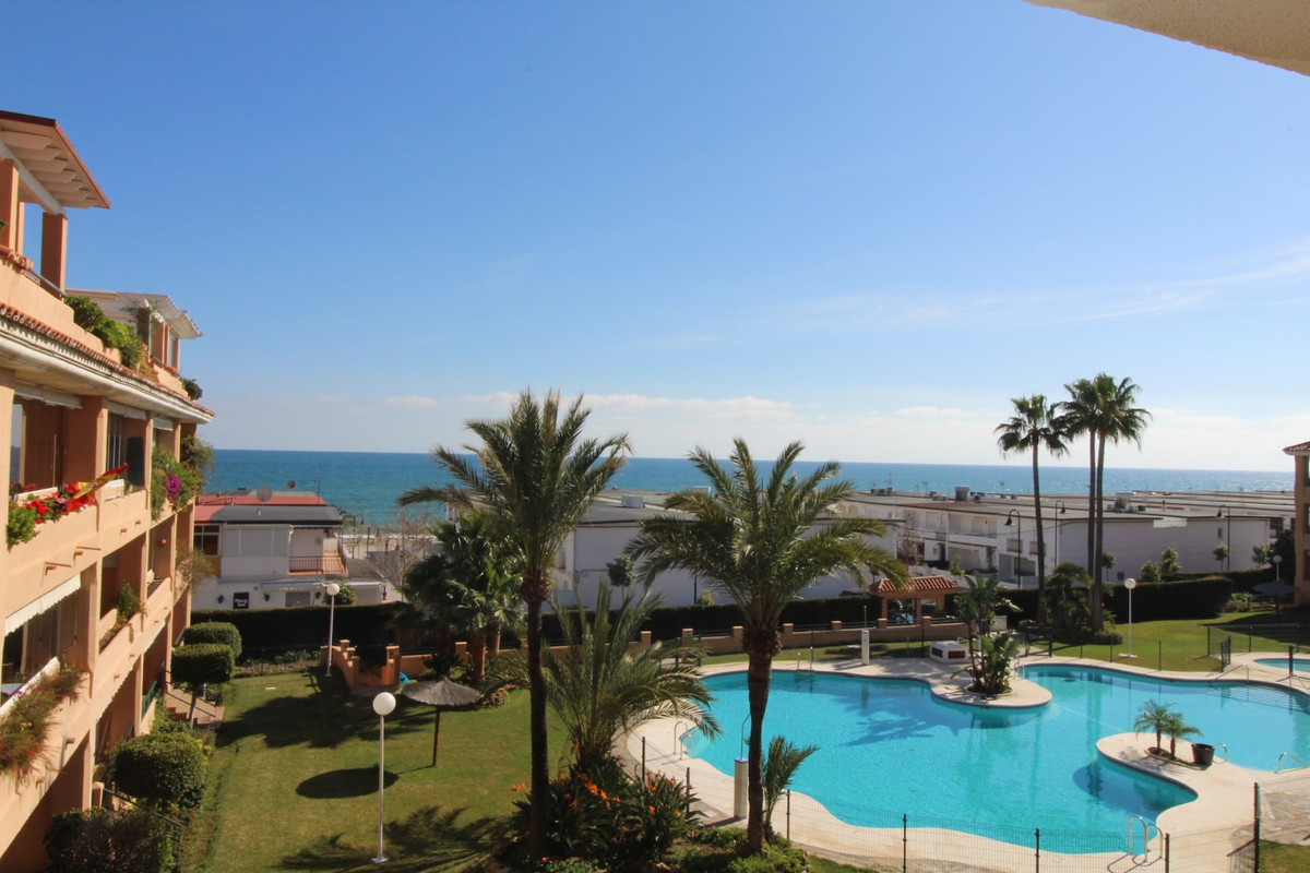 Beachside apartment in La Cala with sea view!    Location location location, apartment with its own ,Spain