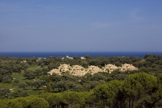 San Roque Golf:  2 Bedroom 2 bathroom apartment front line golf over looking  7th fairway. Terraces ,Spain