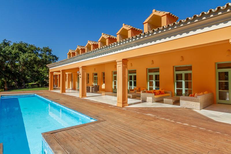 Sotogrande Alto: Front line Golf Valderrama, 5/6 bedroom mansion style villa of 1000m2 living area o,Spain