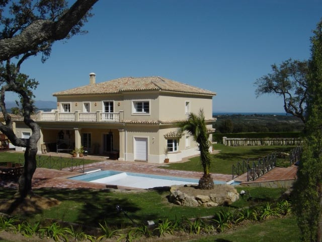 San Roque Golf : Stunning villa located in the prestigious San Roque Club. Located on the first hole,Spain