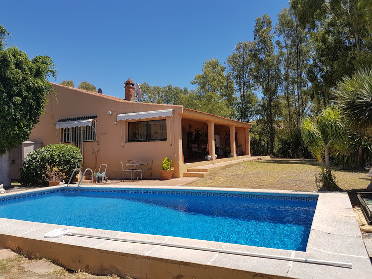 CHARMING DETACHED VILLA ON THE HILLS IN EL PADRON.- Three bedroom detached villa all on one leve lwi,Spain