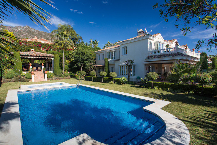 Detached Villa in Sierra Blanca R2683727