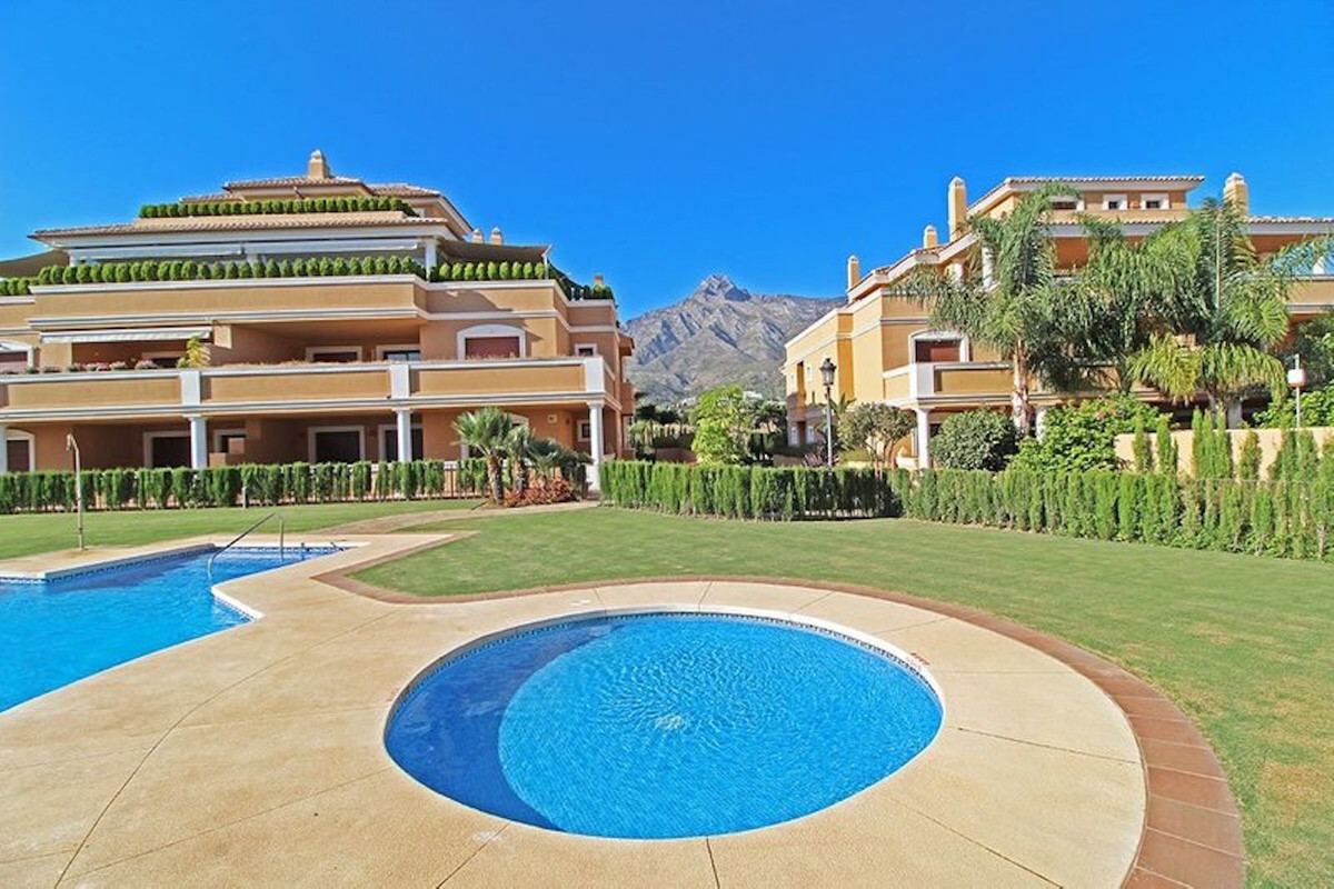 Duplex Penthouse is located in prestigious area of Marbella Golden Mile. The complex has gated commuSpain