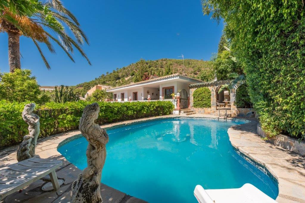 VILLA FOR SALE IN BENAHAVIS VILLAGE  Outstanding 7 bedroom villa in the heart of Benahavis village. ,Spain