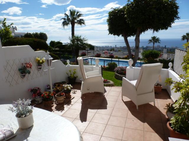 Townhouse For sale In Benalmadena pueblo - Space Marbella