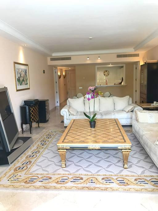 Luxury two bedroom apartment for sale  located in 5* Hotel Kempinski.  Southwest facing with garden ,Spain