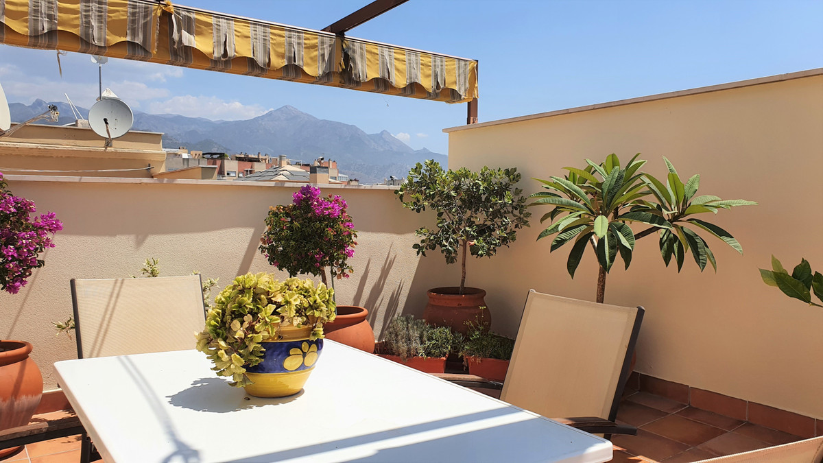 For sale we have a large, duplex penthouse apartment for sale in Torrecilla, Nerja. The penthouse be,Spain