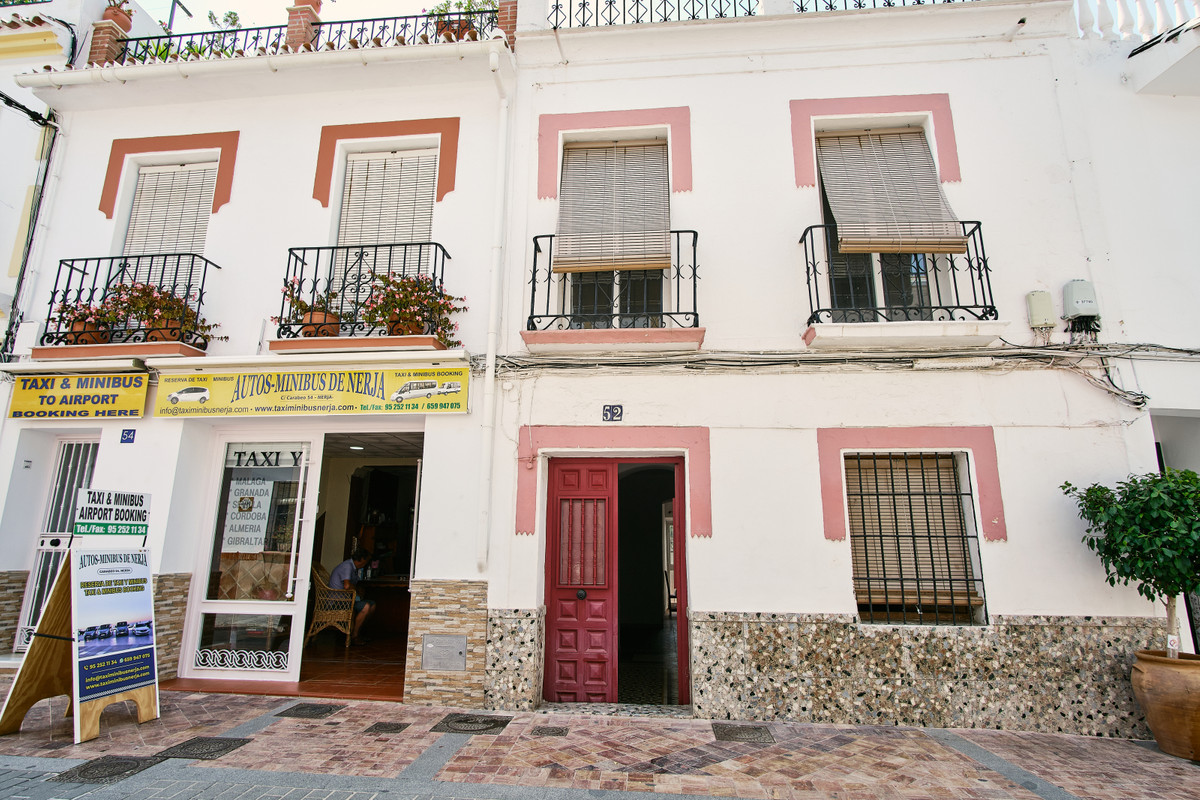 NERJA, CALLE CARABEO  For sale we have this exclusive, traditional Spanish townhouse located along t,Spain
