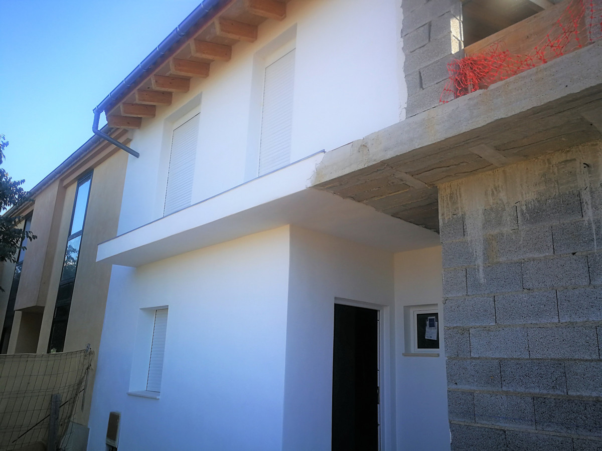 Last Chalets under construction in Pont D`inca (Marratxi) near the school of Santa Teresa, has three,Spain