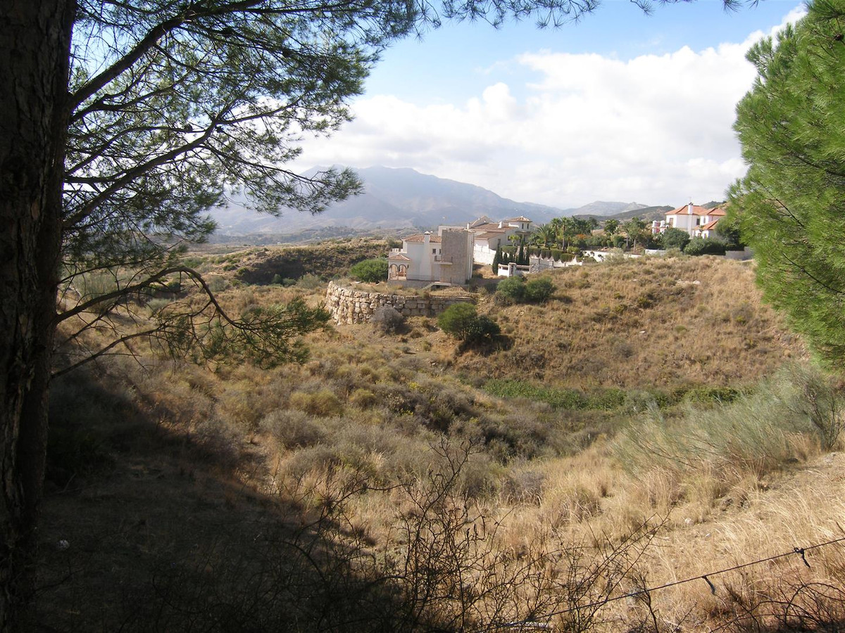 An excellent plot with far reaching views in a secure and sought after urbanisation close to Mijas v,Spain