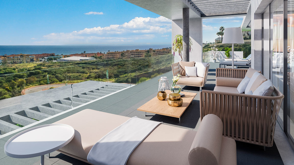 1 Bedroom Middle Floor Apartment For Sale La Cala de Mijas, Costa del Sol - HP3607124
