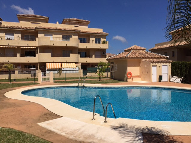 IMMACULATE GROUND FLOOR APARTMENT IN RIVIERA DEL SOL. 2 bedrooms 1 bathroom in a gated community wit,Spain