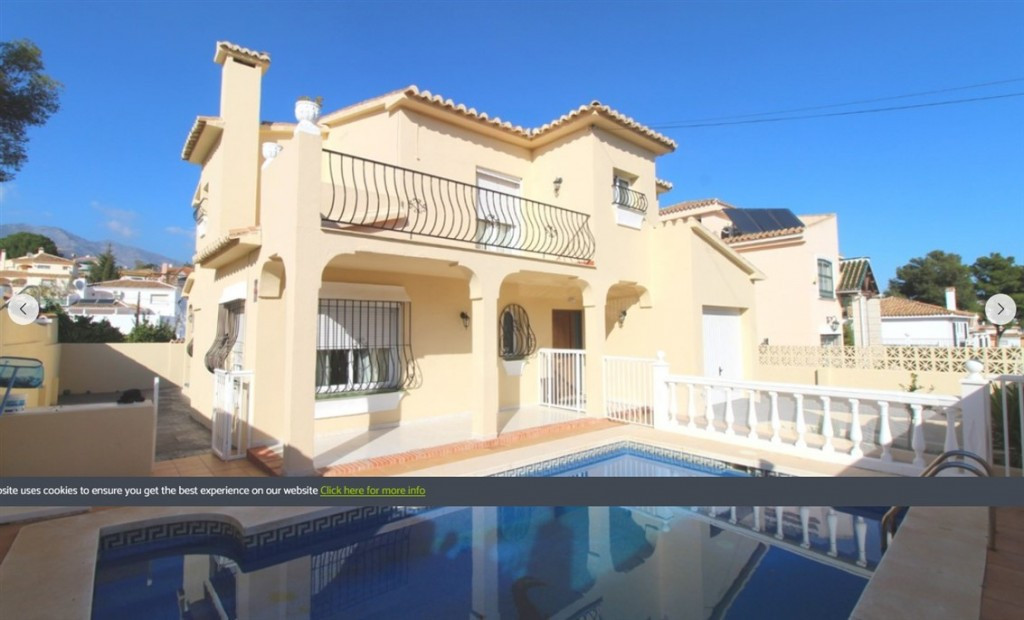 Excellent villa that we found in one of the most sought after residential areas in Mijas Costa, in E,Spain