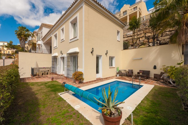 Delightful villa in the exclusive Sierra Blanca Country Club, on the Istan road, with 24h security, ,Spain