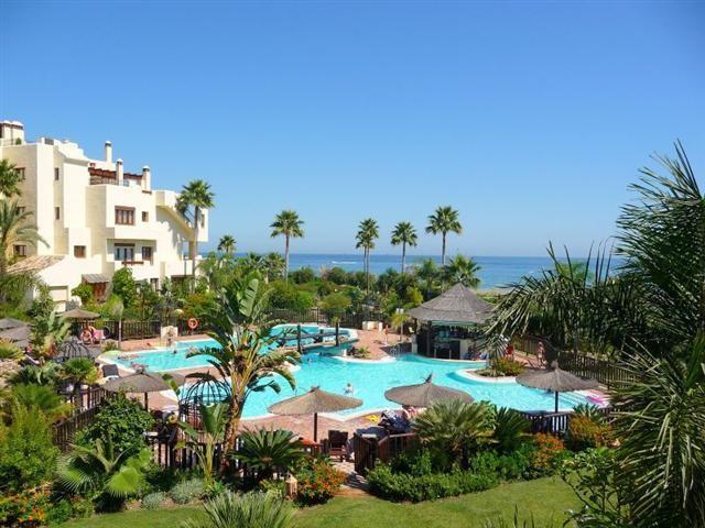 Beautiful luxury ground floor apartment located within small, prestigious, beachfront development ca,Spain