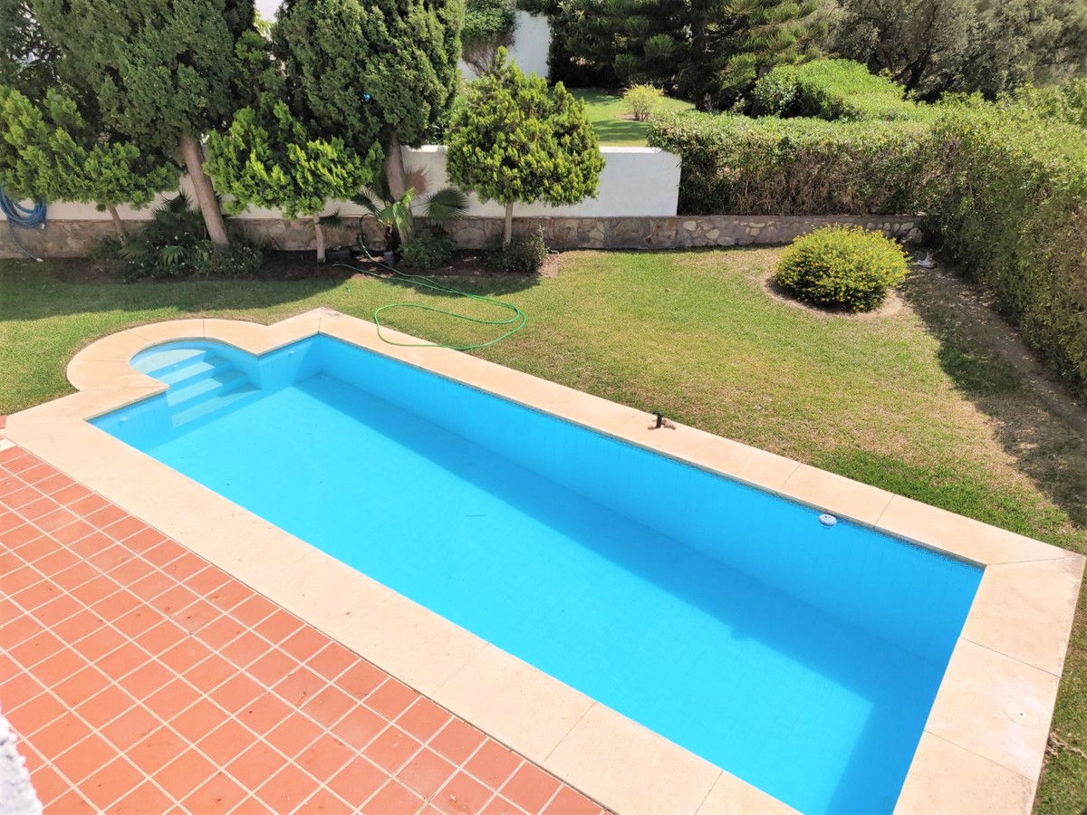 This centrally located villa has fantastic mountain views as well as some sea views.   The villa con,Spain