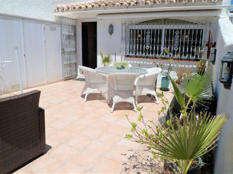 End-townhouse with panoramic views situated in a quiet location in Cerros del Aguila.  The house con,Spain