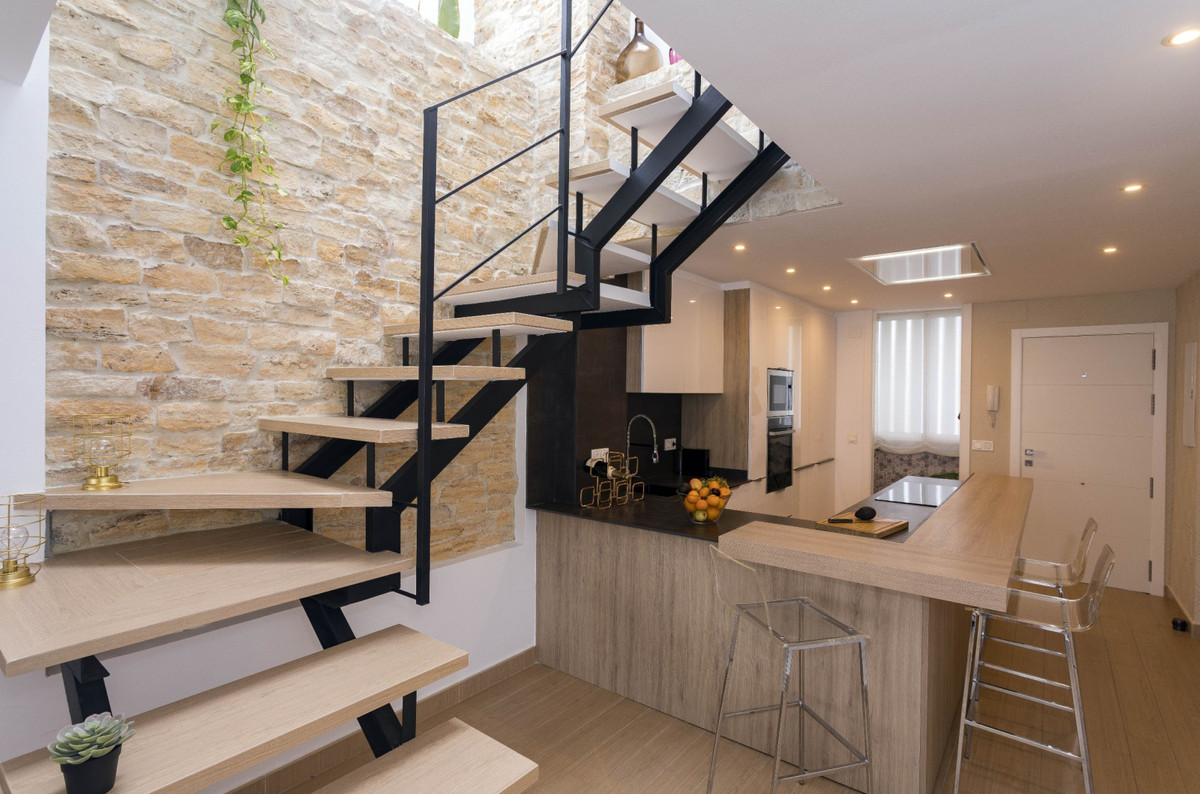 Impressive modern design duplex penthouse in the center of Fuengirola. We present a magnificent dupl,Spain