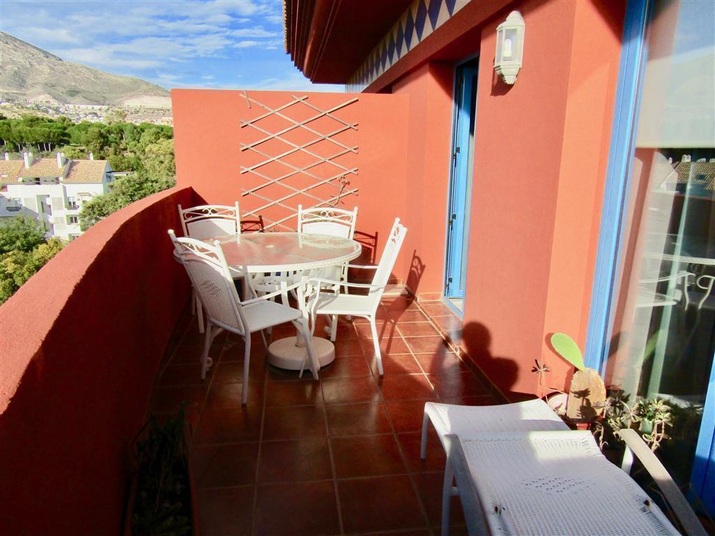Penthouse, Torrequebrada, Costa del Sol. 3 Bedrooms, 2 Bathrooms, Built 114 m², Terrace 40 m².  Sett,Spain