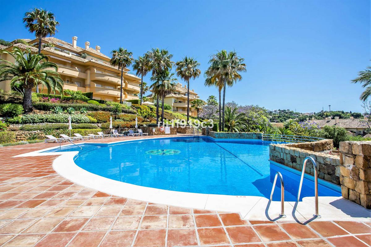 "Middle Floor Apartment in ""Elviria Hills"", Elviria, Marbella.  Costa del Sol. 2 Bedrooms, ,Spain"