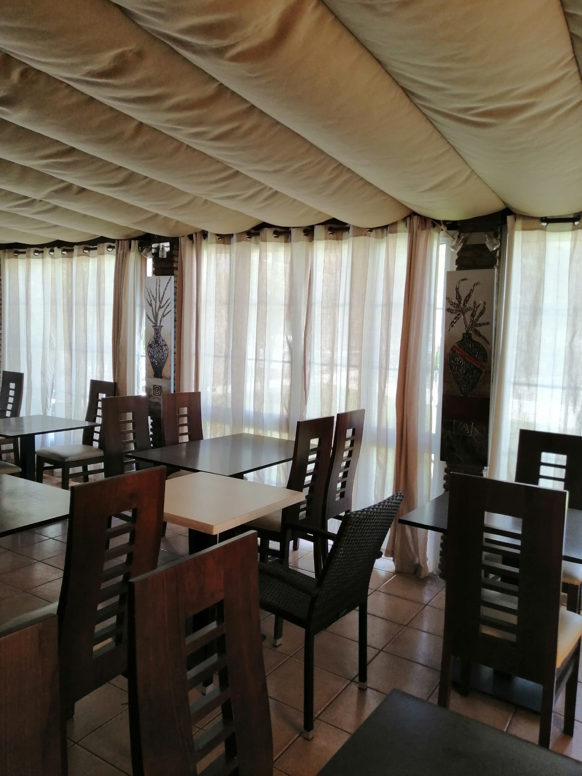 Restaurant a few meters from the AP-7 exit towards torrenueva Mijas costa costa broad on the corner ,Spain