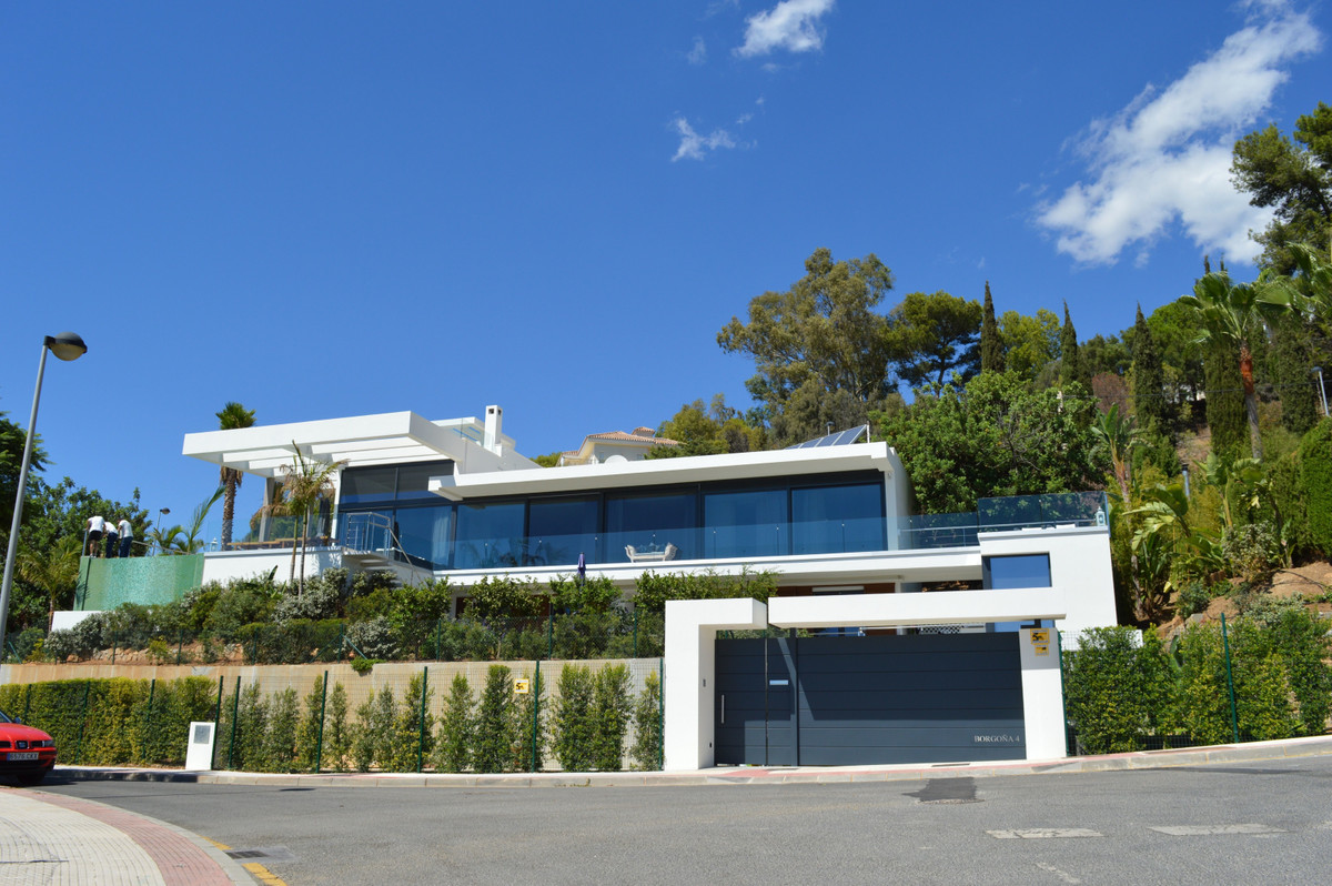 Very exclusive modern design villa with stunning sea views for sale in Marbella .  Unique, south fac,Spain