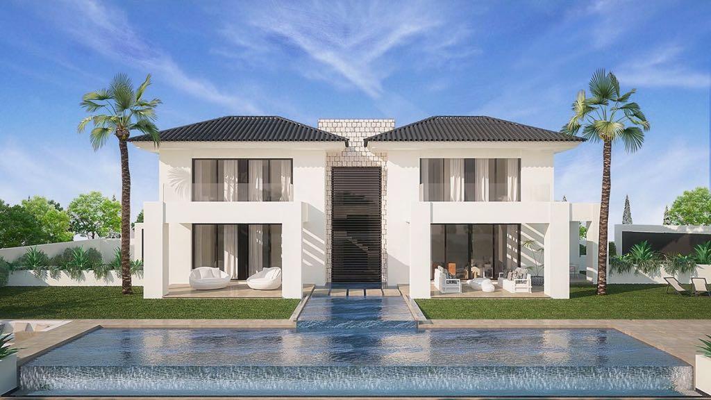 MODERN VILLA UNDER CONSTRUCION IN LA QUINTA   This villa is very well located, next to la Quinta Gol,Spain