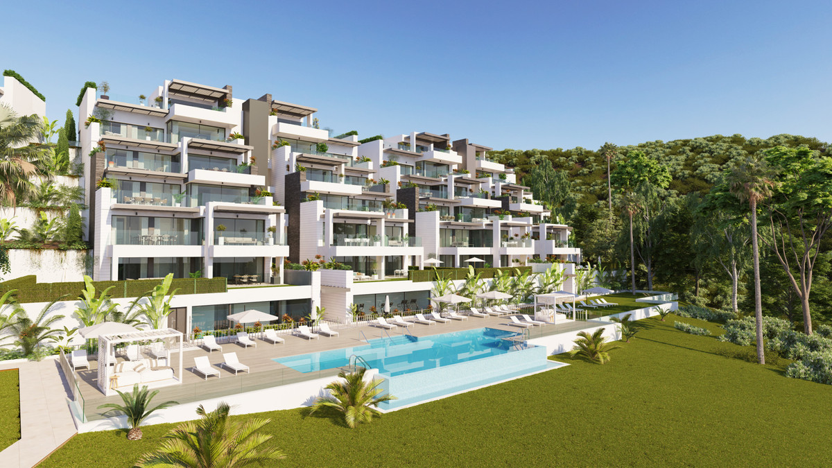Spectacular south facing contemporary apartments with stunning sea views.  Located in the exclusive ,Spain
